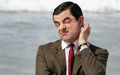 Rowan Atkinson (in character as Mr. Bean) in 2007.